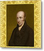 William Hyde Wollaston, English Chemist Metal Print