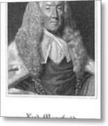 William Murray (1705-1793) Metal Print