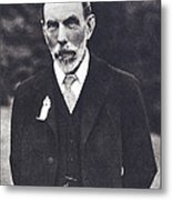 William Ramsay, Scottish Chemist Metal Print