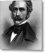 William T. G. Morton, American Dentist Metal Print