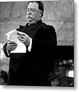 William Taft, 1857-1930, U.s. President Metal Print