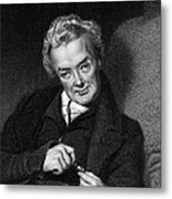 William Wilberforce, British Politician Metal Print by Middle Temple Library