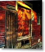 Williams Feed Mill In Williams Indiana Metal Print by Julie Dant