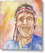 Willie Wanna-be Metal Print