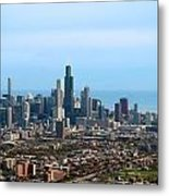 Willis Sears Tower 05 Chicago Metal Print