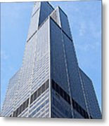 Willis-sears Tower In Chicago Metal Print