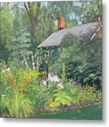 Willowwood Garden Metal Print