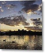 Wimbledon Sunset Metal Print