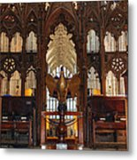 Winchester Cathedral Quire Metal Print