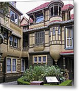 Winchester House - Door To Nowhere Metal Print