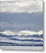 Wind And Waves Metal Print