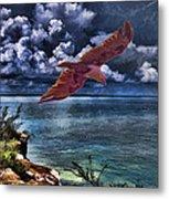 Wind Beneath My Wings Metal Print