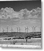 Wind Farm II Metal Print
