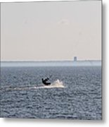 Wind Surfer Metal Print