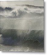 Wind Thrashes The Waves At Camps Bay Metal Print