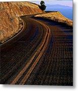 Winding Road Metal Print by Garry Gay