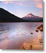Windkissed Reflection Metal Print
