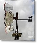 Windmill 9 Metal Print