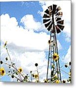 Windmill Dabble 2a Metal Print