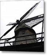 Windmill In The Sky Metal Print
