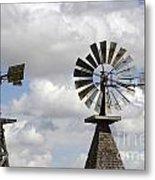 Windmills 5 Metal Print