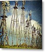 Windmills Of My Mind Metal Print