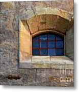 Window Detail At Carmel Metal Print