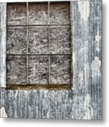 Window In Time 3 Metal Print