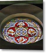 Window In Trinity Church I Metal Print