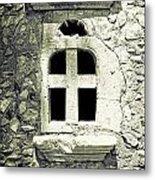 Window Of Stone Metal Print