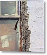 Window Pain  Metal Print