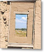 Window To The Past Metal Print by Sean McGuire