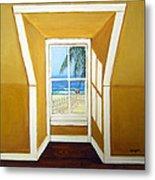 Window To The Sea No. 3 Metal Print