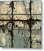 Window Vines Metal Print