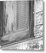 Window With Screen Metal Print
