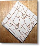 Windows - Tile Metal Print