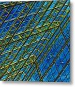 Windows And Reflections No.1058 Metal Print