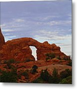 Windows Arch Metal Print