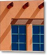 Windows Blue Metal Print