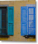 Windows Metal Print by Debra and Dave Vanderlaan