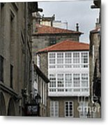 Windows Of Galicia Metal Print