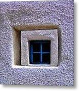 Windows Of Taos Metal Print