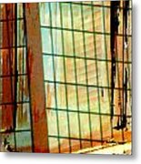 Windows Old And New Metal Print
