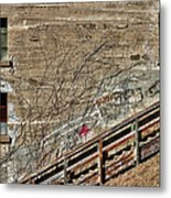 Window's On An Incline Metal Print