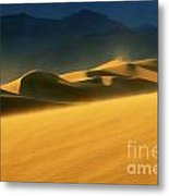 Death Valley Windswept 2 Metal Print