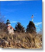 Windy Day At East Point  Metal Print
