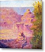 Windy Day In The Canyon Metal Print