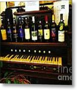Wine And Song  Metal Print