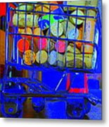 Wine Buggy Metal Print by James Eller