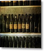 Wine Collection Metal Print